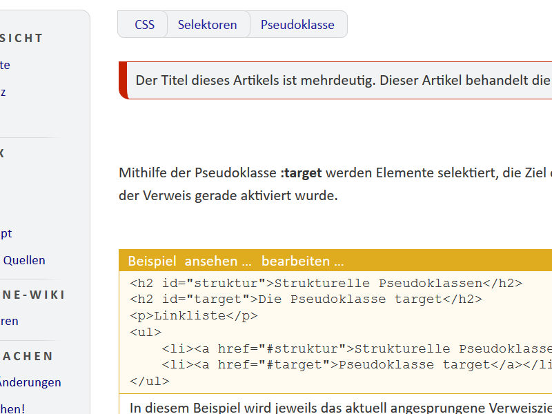 screenshot wikibeispiel
