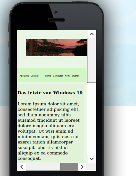 Bild Virtual smartphone
