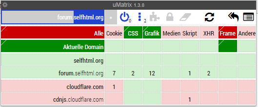 uMatrix-Screenshot
